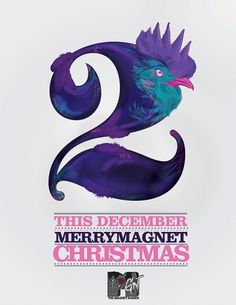 XMAS 09 the early bird catcheth the worm on the Behance Network #catcheth #gmez #betancur #early #bird #the #mtv #domingo #worm #jos