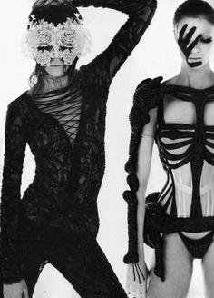 BLCKout - orysmatik: Freja BehaErichsen &Mariacarla... #beha #erichsen #black #freja #fashion