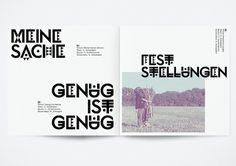 HelloMe — Exzem #print #typography