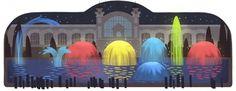Google+ #google #doodle #fountain