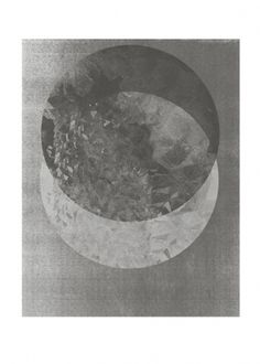 Two moon/special | Rk #circle #print #blackwhite