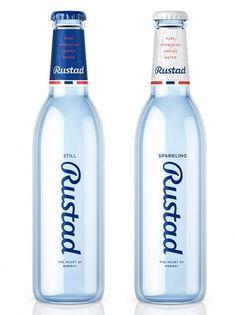 Rustad Bottle #color #script #minimal