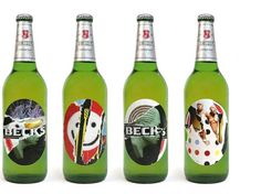 Becks - Labels : Village Green #becks #village #labels #green