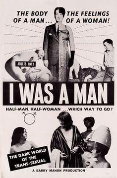 I WAS A MAN.
