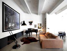 Photographer's Loft - #decor, #interior, #homedecor, home decor, interior design