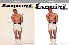 Esquire Digital Edition on Behance #esquire #basile #cover #editorial #magazine #francesco