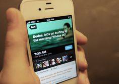Holler 2.0 iPhone App on the Behance Network #inspiration