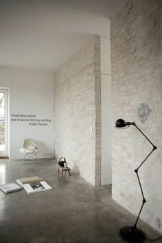 CJWHO ™ #inspiration #picasso #white #design #interiors #architecture #pablo
