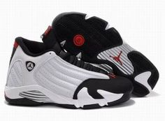 Nike Air Jordan 14 Retro White/Black Men's #shoes