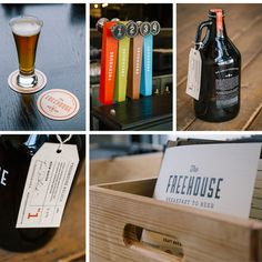 The Freehouse #brewery #beer #freehouse #branding #packaging #print #restaurant #minneapolis #type