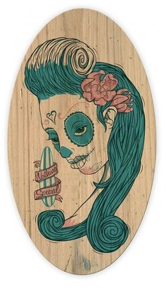 Nothing Special on the Behance Network #surfing #zombie #surfboard