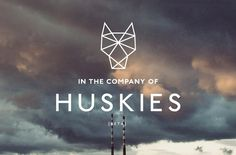 In the Company of Huskies logo designed by Stylo Design