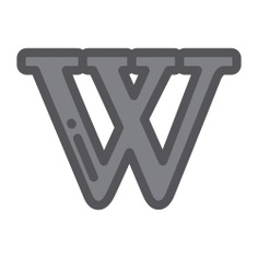 See more icon inspiration related to wikipedia, logo, brands and logotypes, brand, logotype, social network and social media on Flaticon.