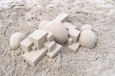 Geometric Sandcastles3 #sandcastle