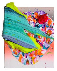 Yago Hortal | PICDIT #design #art #abstract #paint #painting #color #colour