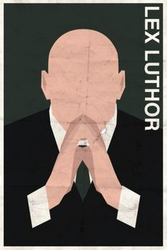 Vintage DC Supervillain Posters #lex #luthor #illustration #poster