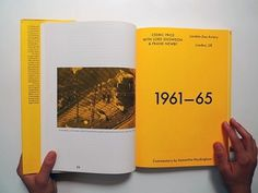 void() #layout #book design #spread #yellow