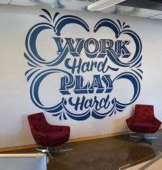 Work Hard, Play Hard by Scott Biersack #inspiration