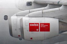 by Sasha Nevolin #airplane #engine #swiss