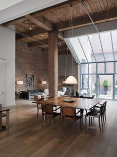 The Design Chaser: Interior Brick | Raw