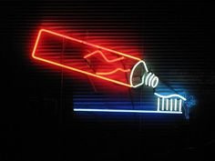 All sizes | Edgewater dental tooth brush neon sign | Flickr - Photo Sharing! #toothpaste #toothbrush #neon