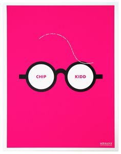 Chip Kidd Poster #poster