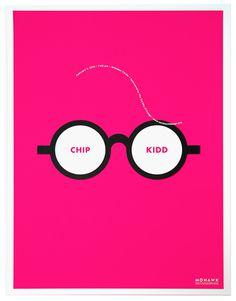 Chip Kidd Poster