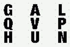 LIGHT LETTER MACHINE / part 2 #letters #design #experimental #graphic #des #typography