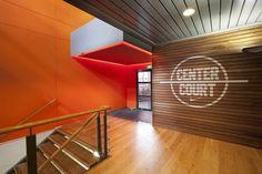 Centre Court / Nike by Matte   123 Inspiration #staff #bistro #matte #netherlands #hilversum #nike #emea #graphics #llustrations