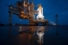 Space shuttle era ends with Atlantis - The Big Picture - Boston.com #nasa #shuttle #space #atlantis
