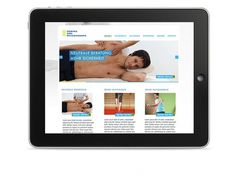 __DK Physiotherapie - JPB STUDIO - Art & Creative Direction #karl #screendesign #ipad #interface #dominik #interfacedesign