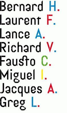 • Caporal : Éditions Deux-Cent-Cinq #typeface #caporal #editions205