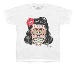 Strange Company Tattoo Girl T-Shirt #tattoo #t-shirt