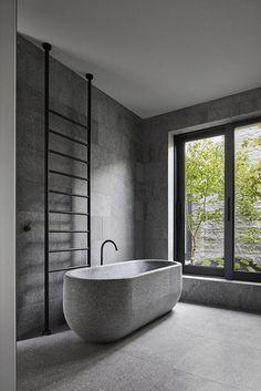 Melbourne's B.E Architecture Has Designed a Sensational Stone House Made of 260 Tonnes of Granite 10