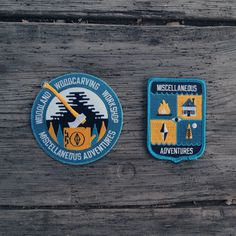 Miscellaneous Adventures #badge #adventures #crest #patch #miscellaneous