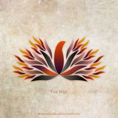 Fire Bird by ~samadarag on deviantART #fird #bird #samadara #ginige #fire