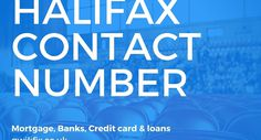#Halifax_Contact_Number