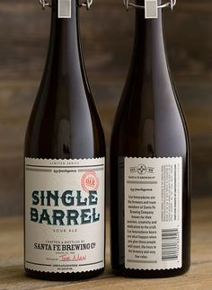 Santa Fe Single Barrel #packaging #beer