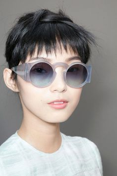 Model Love #glasses #ju #woman #xiao #wen #photography