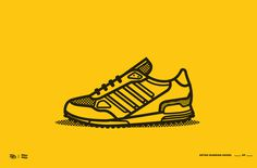 shoes2.jpg #line #shoes #stroke #retro #color