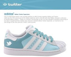 Adidas Twitter Superstars on the Behance Network #twitter #adidas