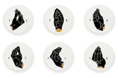 STEREOTYPISM by Casalinghe di Tokyo | A R T N A U #plate #vessels #hand #stereotypism