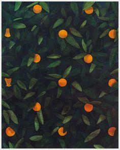 Untitled (orange painting) - Ryan Mrozowski #painting #art #orange