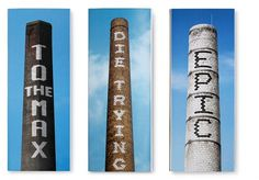 triborodesign | triboro projects #chimnies #lettering #matchboxes