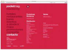 Pocketmag. on Behance #brand