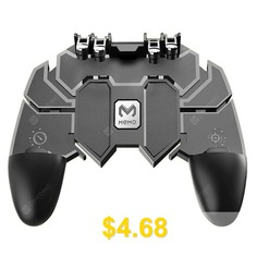 Mobile #Phone #Game #Controller #Joystick #Fire #Trigger #Gamepad #- #BLACK