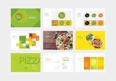 #pizza #pizzeria #packaging #package #pack #green #brazil #megalo #brand #identity #vusal identity #logo #brandbook #branding