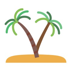 See more icon inspiration related to island, desert, palm tree, tropical, oasis and nature on Flaticon.