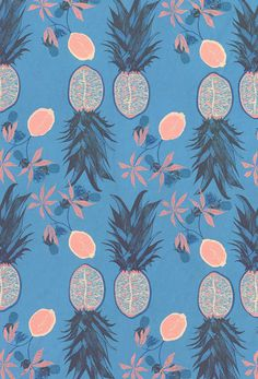 Pineapple Print Pattern