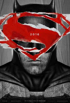 Batman vs Superman movie poster